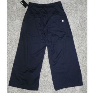 de61dd74bf0c Fila Pants - Fila Athletic Pants Black XS Loose Fit Capri NWT
